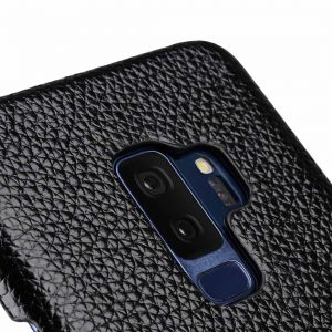 Melkco Premium Leather Card Slot Back Case for Samsung Galaxy S9 Plus - (Black LC) Ver.2