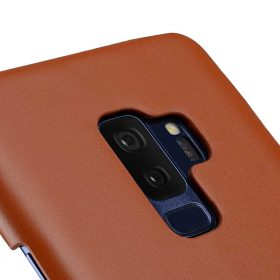 Melkco Premium Leather Card Slot Back Case for Samsung Galaxy S9 Plus – (Brown CH)Ver.2
