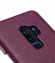 Melkco Premium Leather Card Slot Back Case for Samsung Galaxy S9 Plus – ( Purple LC )Ver.2
