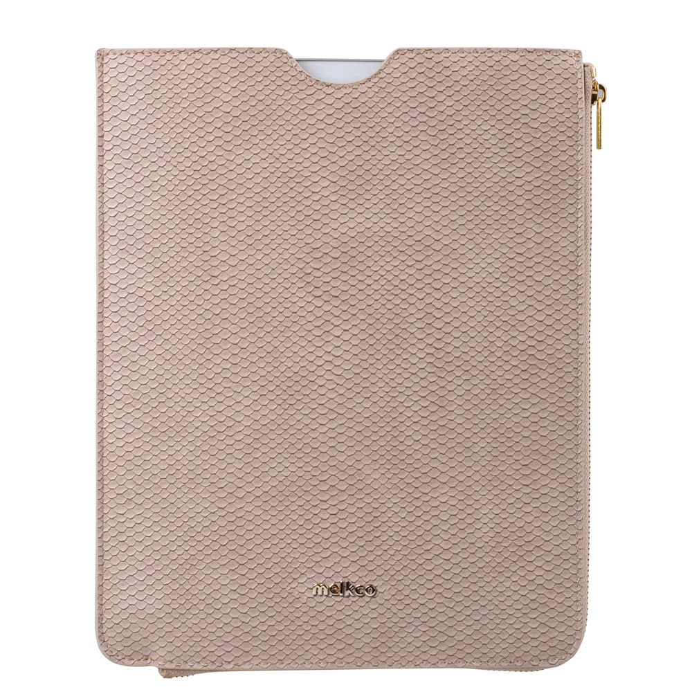 Melkco Fashion Python Skin Series leather pouch for iPad Air 2
