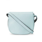 Melkco Blooming Series Mini Saddle Bag in Genuine Leather (Mint Green)