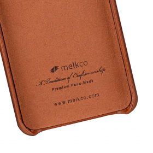 Melkco Elite Series Premium Leather Snap Back Pocket Case for Samsung Galaxy S9 – (Tan)