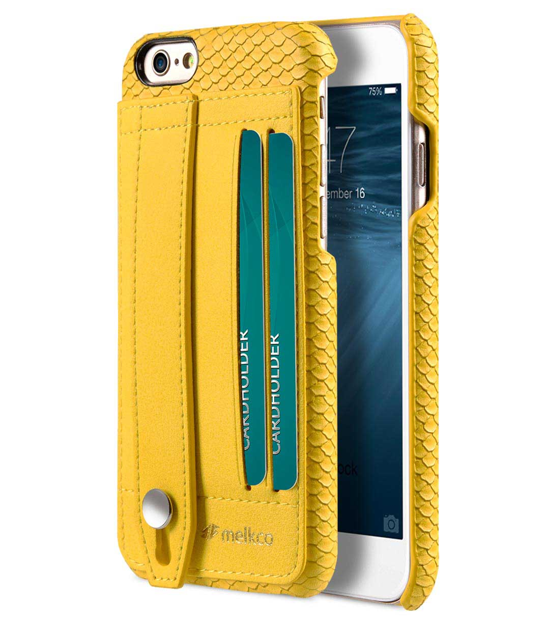 best website 61c5d a7a1c Melkco Fashion Python Skin Series leather case for iPhone 6s
