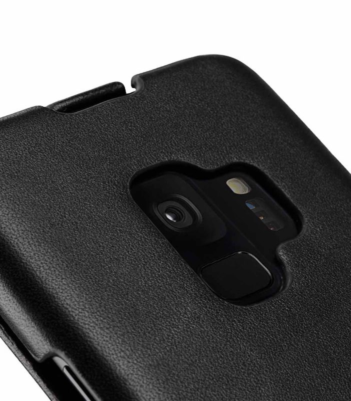 Melkco Premium Leather Case for Samsung Galaxy S9 - Jacka Type (Black)