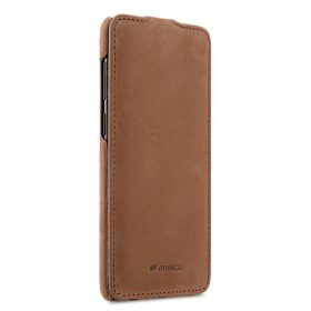 Melkco Premium Leather  Case for Samsung Galaxy S9 – Jacka Type (Classic Vintage Brown)