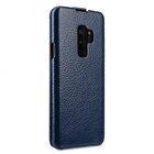 Melkco Premium Leather  Case for Samsung Galaxy S9 – Jacka Type (Dark Blue LC)