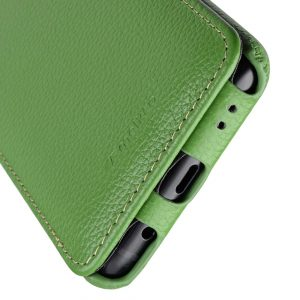 Melkco Premium Leather Case for Samsung Galaxy S9 - Jacka Type (Green LC)