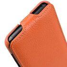 Melkco Premium Leather  Case for Samsung Galaxy S9 – Jacka Type (Orange LC)