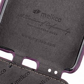 Melkco Premium Leather Case for Samsung Galaxy S9 – Jacka Type (Purple LC)