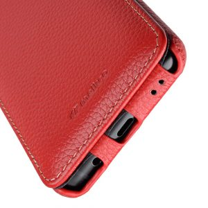 Melkco Premium Leather Case for Samsung Galaxy S9 - Jacka Type (Red LC)