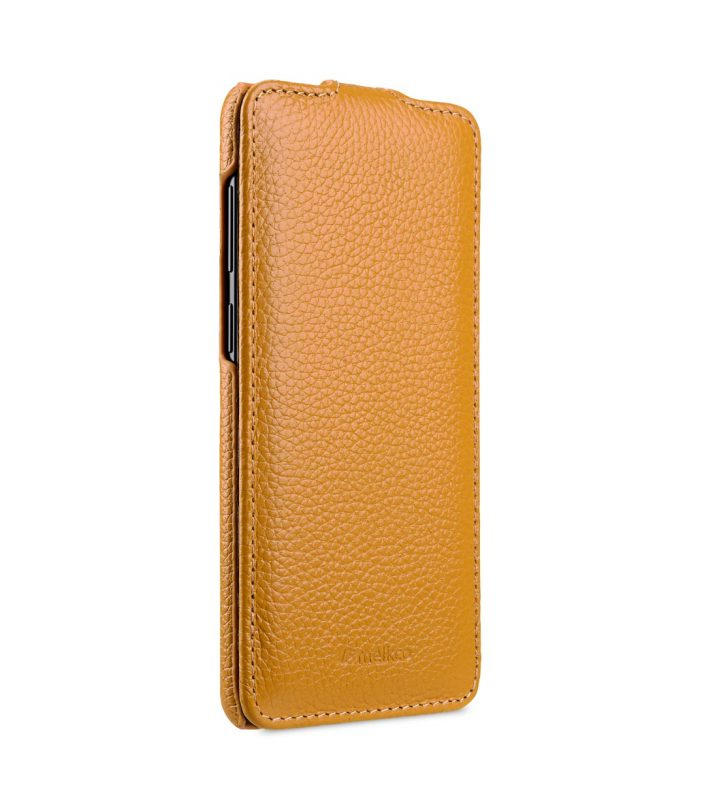Melkco Premium Leather Case for Samsung Galaxy S9 - Jacka Type (Yellow LC)