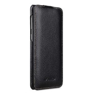 Melkco Premium Leather Case for Samsung Galaxy S9 Plus - Jacka Type (Black LC)