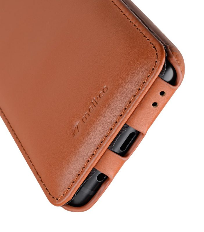 Melkco Premium Leather Case for Samsung Galaxy S9 Plus - Jacka Type (Brown CH)
