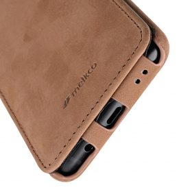 Melkco Premium Leather  Case for Samsung Galaxy S9 Plus – Jacka Type (Classic Vintage Brown)