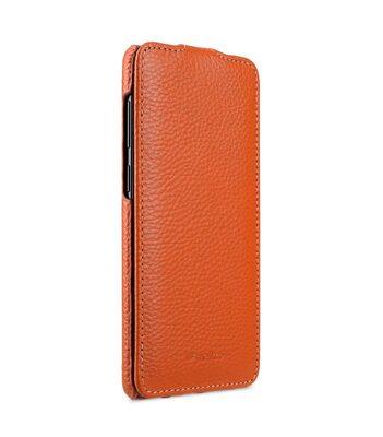 Melkco Premium Leather Case for Samsung Galaxy S9 Plus - Jacka Type (Orange LC)