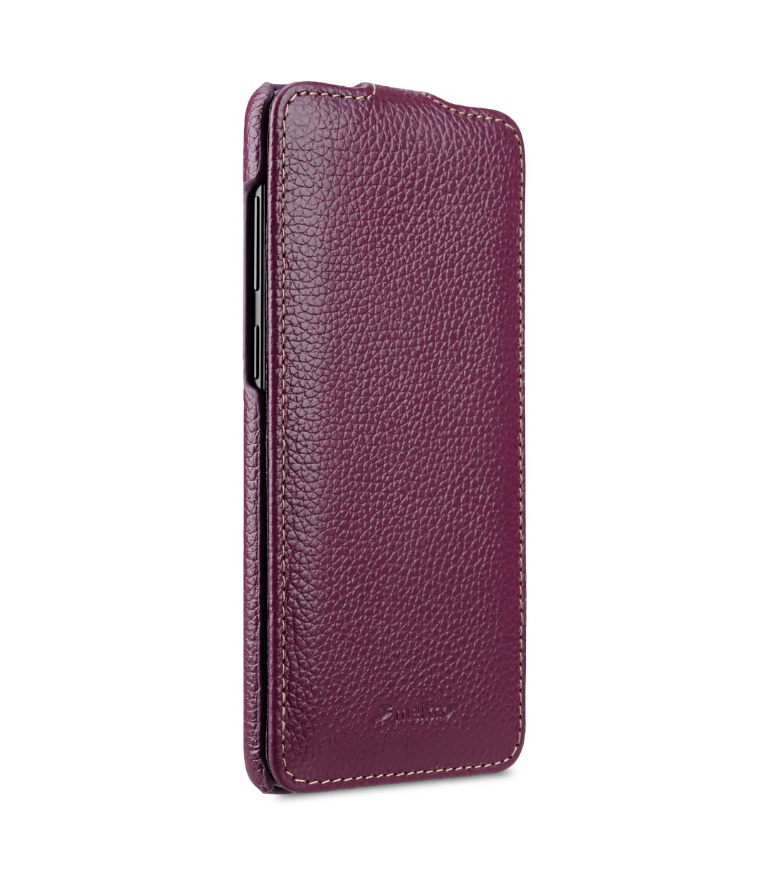 Melkco Premium Leather Case for Samsung Galaxy S9 Plus - Jacka Type (Purple LC)