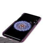 Melkco Premium Leather  Case for Samsung Galaxy S9 Plus – Jacka Type (Purple LC)