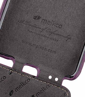 Melkco Premium Leather Case for Samsung Galaxy S9 Plus - Jacka Type (Purple LC)