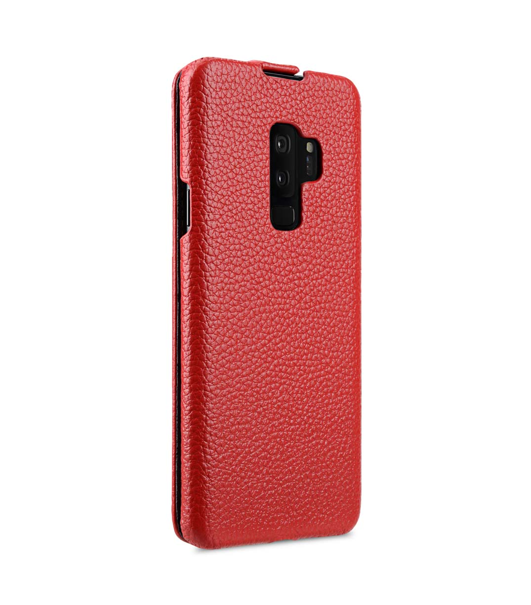 Melkco Premium Leather Case for Samsung Galaxy S9 Plus - Jacka Type (Red LC)