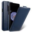 Melkco Premium Leather  Case for Samsung Galaxy S9 Plus – Jacka Type (Dark Blue LC)