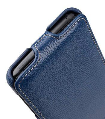 Melkco Premium Leather Case for Samsung Galaxy S9 Plus - Jacka Type (Dark Blue LC)
