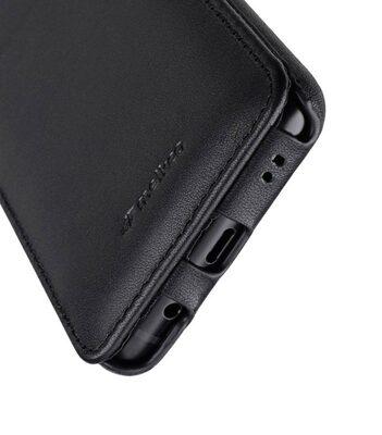 MelkcoPremium Leather Case for Samsung Galaxy S9 Plus - Jacka Type (Black)