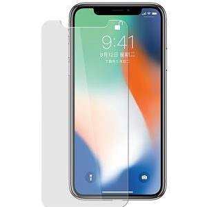 Melkco 9H Tempered Glass Screen Protector for Apple iPhone X - (Transparent)