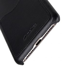 Melkco Back Snap Series Premium Leather Card Slot Back Cover V2 Case for Huawei P20 – ( Black )