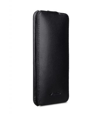 Melkco Jacka Series Premium Leather Jacka Type Case for Huawei P20 Lite - ( Black )