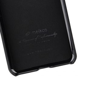 Melkco Premium Leather Card Slot  Cover  Case for Huawei P20 Pro – (Black)Ver.2