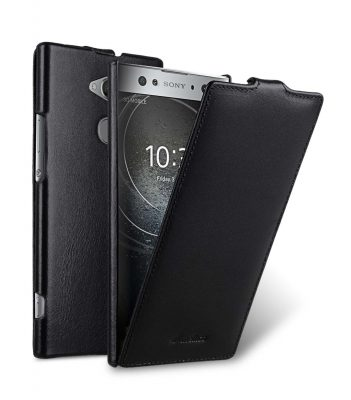 Melkco Premium Leather Case for Sony Xperia XA2 Ultra - Jacka Type (Black)