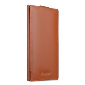 Melkco Premium Leather Case for Sony Xperia XA2 Ultra – Jacka Type (Brown CH)