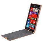 Melkco Premium Leather Case for Nokia Lumia 1520 – Jacka Type - (Classic Vintage Brown)