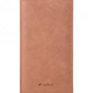 Melkco Premium Leather Case for Nokia Lumia 1520 – Jacka Type - (Classic Vintage Brown)
