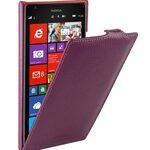 Melkco Premium Leather Case for Nokia Lumia 1520 / 1520.2 / Bandit / Beastie - Jacka (Purple LC)