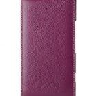 Melkco Premium Leather Case for Nokia Lumia 1520 / 1520.2 / Bandit / Beastie – Jacka (Purple LC)