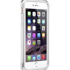 """Melkco Edge Back Bumper for Apple iPhone 6 (4.7"""") – Metallic White"""