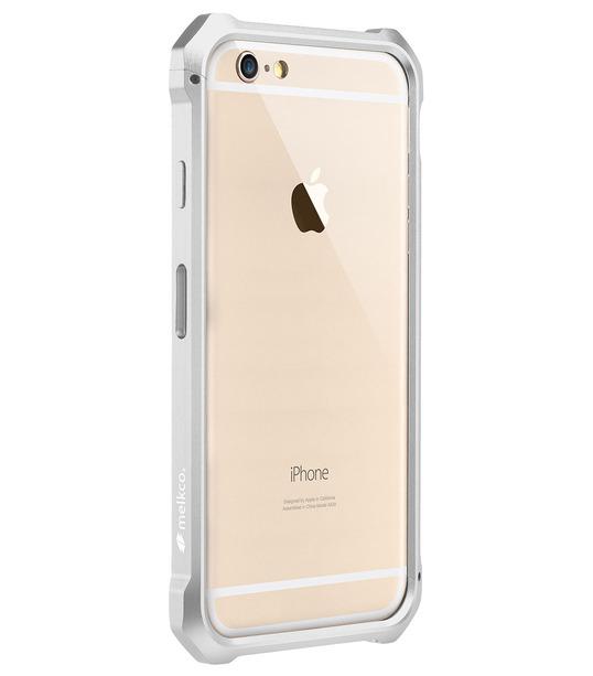 """Melkco Edge Back Bumper for Apple iPhone 6 (4.7"""") - Metallic White"""