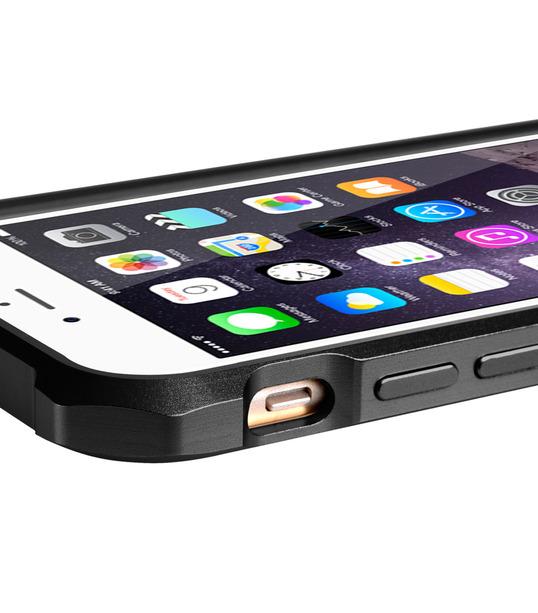 "Melkco Edge Back Bumper for Apple iPhone 6 (4.7"") - Metallic Black"