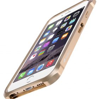 "Melkco Edge Back Bumper for Apple iPhone 6 (4.7"") – Metallic Gold"