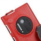 Melkco Premium Leather Case for Nokia Lumia 1020 – Jacka Type (Red LC)