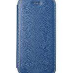 "Melkco Premium Leather Cases for Apple iPhone 6 (4.7"") - Face Cover Book Type (Ver.3) (Dark Blue LC)"