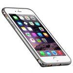 """Melkco Q Arc Aluminium Bumper for Apple iPhone 6 (4.7"""") - Space Grey"""