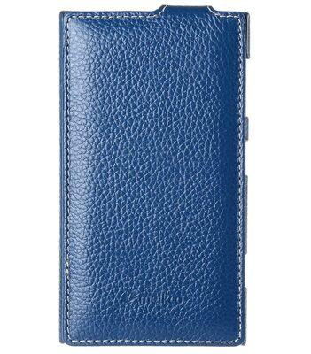 Melkco Premium Leather Case for Nokia Lumia 1020 - Jacka Type (Dark Blue LC)