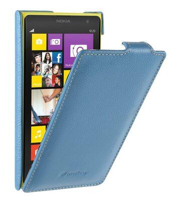 Melkco Premium Leather Case for Nokia Lumia 1020 - Jacka Type - (Blue LC)