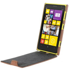 Melkco Premium Leather Case for Nokia Lumia 1020 –  Jacka Type – (Classic Vintage Brown)