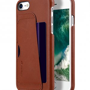 Melkco Fashion European Series Snap cover for Apple iPhone 7 / 8 (4.7') - (Orange Brown)