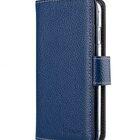 "Melkco Premium Leather Case for Apple iPhone 7 / 8 (4.7"") – Wallet Plus Book Type (Dark Blue LC)"