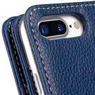 "Melkco Premium Leather Case for Apple iPhone 7 / 8 Plus(5.5"") – Wallet Plus Book Type (Dark Blue LC)"