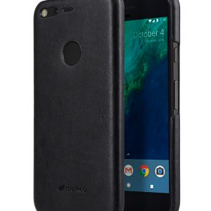 Melkco Premium Leather Snap Cover for Google Pixel (Vintage Black)